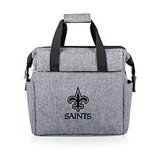 Picnic Time Officially Licensed NFL On The Go Lunch Cooler - Saints