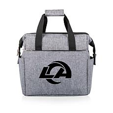 Picnic Time Officially Licensed NFL On The Go Lunch Cooler - LA Ram...