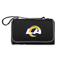 Picnic Time Officially Licensed NFL Picnic Blanket - Los Angeles Rams