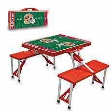 Picnic Time Picnic Table Sport - San Francisco 49ers