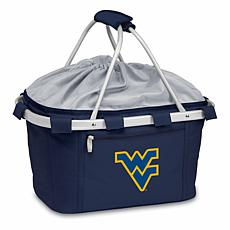 Picnic Time Portable Basket - West Virginia University