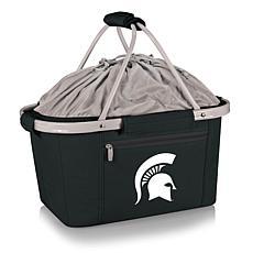 Picnic Time Portable Metro Basket - Michigan State Un.