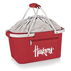 Picnic Time Portable Metro Basket - Un. of Nebraska
