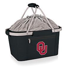 Picnic Time Portable Metro Basket - Un. of Oklahoma