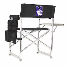 Picnic Time Sports Chair - Northwestern University