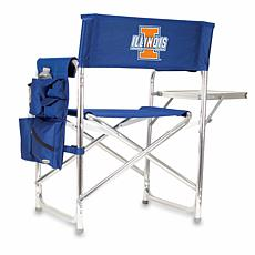 Picnic Time Sports Chair - University of Illinois