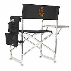 Picnic Time Sports Chair - University of Wyoming