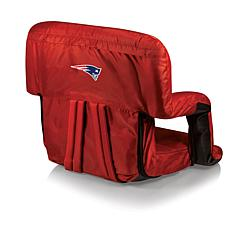 Picnic Time Ventura Folding Chair-New England Patriots