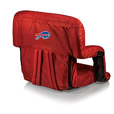 Picnic Time Ventura Folding Stadium Chair-Buffalo Bills