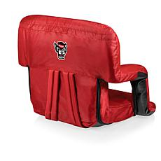 Picnic Time Ventura Seat - North Carolina State - Red