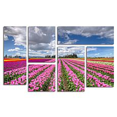 "Pierre Leclerc ""Tulip Field"" Multi Panel Art Collection"