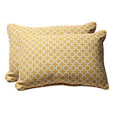 Pillow Perfect 2 Oversized Rectangular Throw Pillows