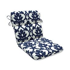 Pillow Perfect Bosco Rounded Chair Cushions - Navy
