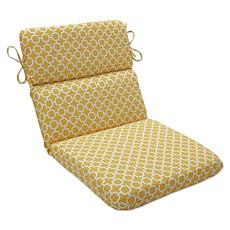Pillow Perfect Outdoor Rounded Corners Chair Cushion