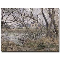 Pissarro 'Oise Banks, Pontoise, 1878' Print - 32x24