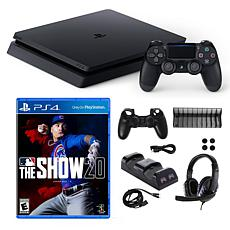 Playstation 4 1TB Core with MLB the Show 20 and 10 in 1 Accessories...