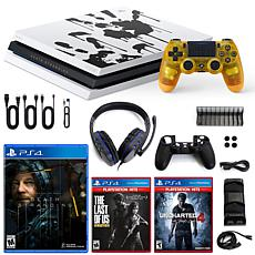 PlayStation 4 Pro 1TB Limited Death Stranding Edition Console with ...