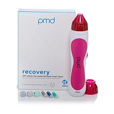 PMD Personal Microderm Beauty Device Kit w/Recovery Masks - Pink