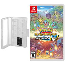 Pokemon Mystery Dungeon Rescue Team DX and Game Caddy for the Ninte...