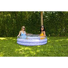 PoolCandy Mermaid Collection Inflatable Glitter Sunning Pool