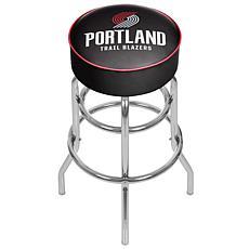 Portland Trail Blazers NBA Padded Swivel Bar Stool