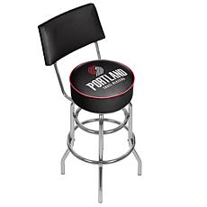 Portland Trail Blazers Padded Swivel Bar Stool w/ Back