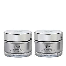 PRAI 2-pack Platinum Firm & Lift Night Crème