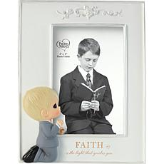 Precious Moments 202429 First Communion Boy Photo Frame