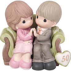 Precious Moments 50th Anniversary Through the Years Figurine - 123021