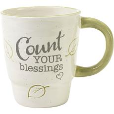 Precious Moments Count Your Blessings Ceramic Mug