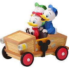 Precious Moments Disney Collectible Parade Huey, Dewey, Louie Figurine