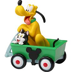 Precious Moments Disney Collectible Parade Pluto And Figaro Figurine