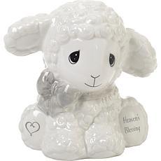 Precious Moments Heaven's Blessings Ceramic Lamb Bank