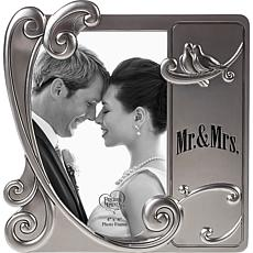 "Precious Moments ""Mr And Mrs"" 4x6 Photo Frame"