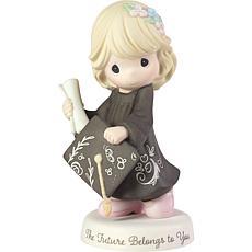 "Precious Moments ""The Future Belongs to You"" Graduation Girl Figurine"