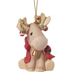 "Precious Moments ""The Moose Wonderful Time Of The Year"" Ornament"