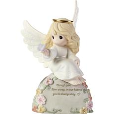 Precious Moments Though You Flew Away Porcelain Angel Figurine