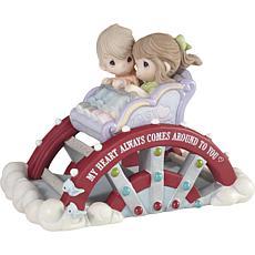 PreciousMoments Come Around LimitedEdition Ferris Wheel Couple Figure