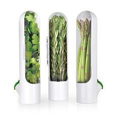Prepara Herb Saver Pod 3-pack - White