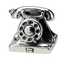 Prerogatives Sterling Silver Telephone Bead