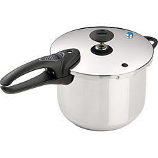 Presto 6-Quart Stainless Steel Pressure Cooker Deluxe