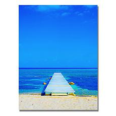Preston 'Beach-Pier' Canvas Art
