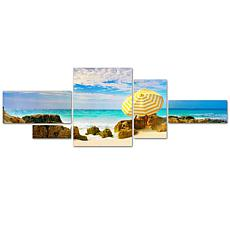Preston 'Bermuda Umbrella' Multi-Panel Art Collection