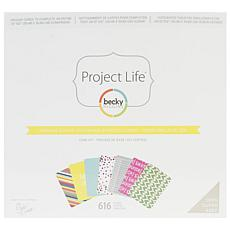 Project Life Scrapbooking Core Kit - Sunshine Edition