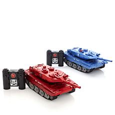 Propel Radio-Controlled Large Battling Laser Tanks 2pk