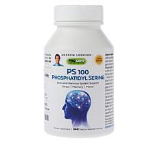 PS 100 Phosphatidyl Serine - 240 Capsules