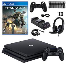 PS4 Pro 1TB Console with Titanfall 2 and Accessories