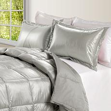 Puff Indoor/Outdoor Quilted Nylon Comforter - Full/Queen