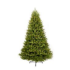 Puleo 12' Franklin Fir Artificial Christmas Tree w/1500 Clear Lights