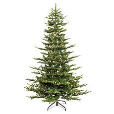 Puleo 7-1/2 ft. Pre-Lit Arctic Fir Artificial Christmas Tree